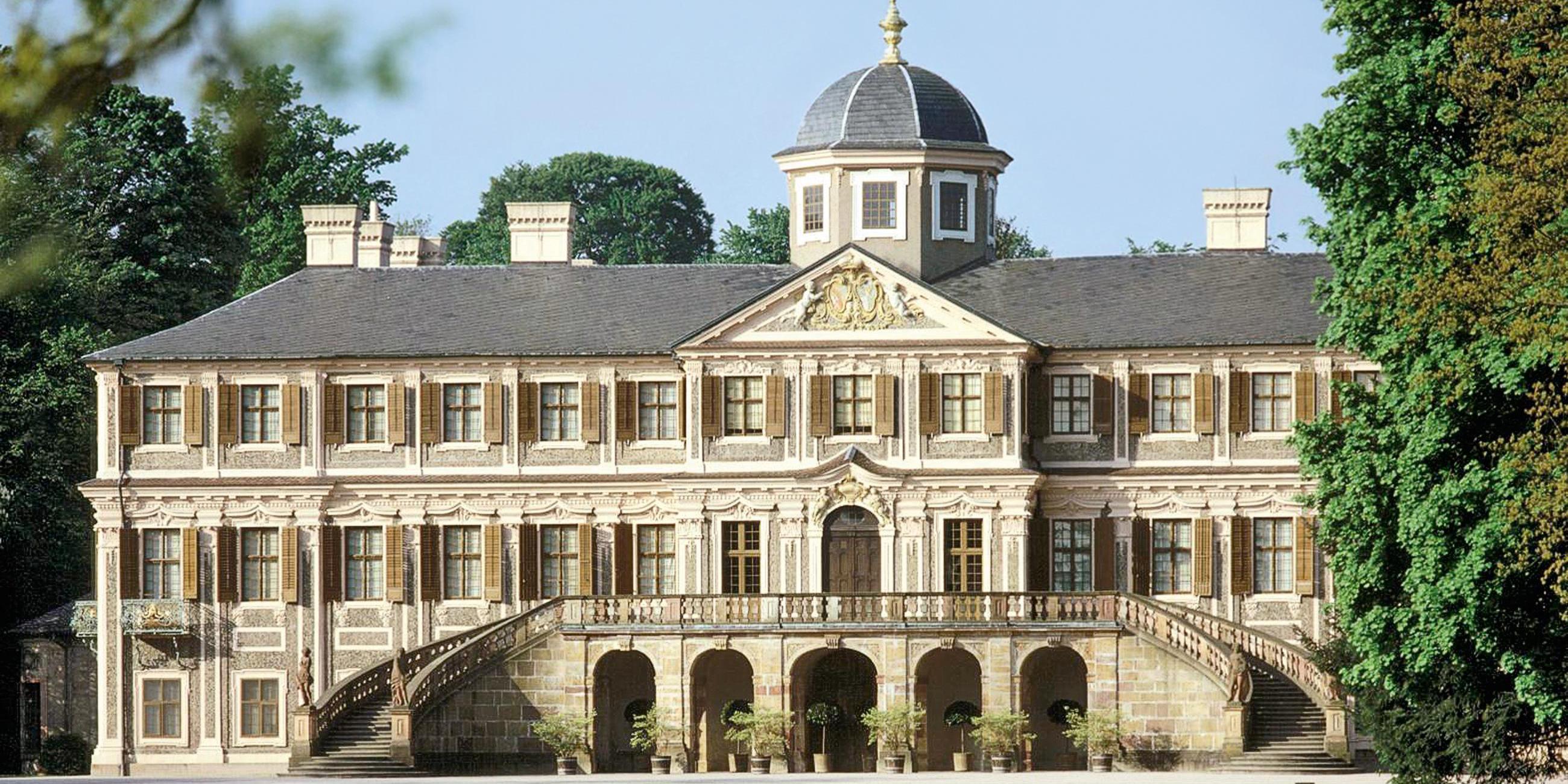 Schloss Favorite Rastatt; Foto: Staatliche Schlösser und Gärten Baden-Württemberg, Arnim Weischer