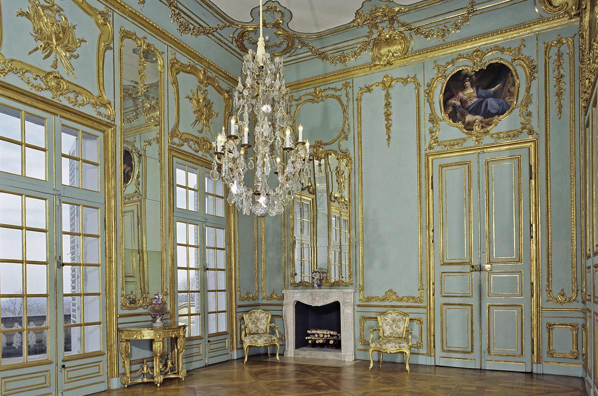Vorzimmer im Appartement von Herzog Carl Eugen im Schloss Solitude, Foto: Staatliche Schlösser und Gärten Baden-Württemberg, Andrea Rachele