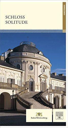 """Buchcover """"Schloss Solitude"""" von Michael Wenger, Foto: Deutscher Kunstverlag"""