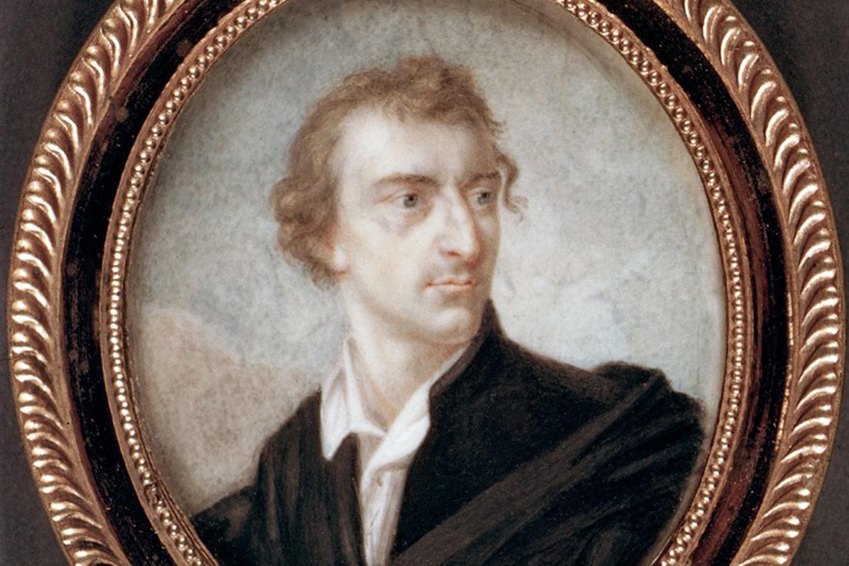 Miniatur-Porträt Friedrich Schillers, 1812, Foto: Landesmedienzentrum Baden-Württemberg, Hans Steinhorst