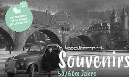"""Motiv der Sommerkampagne """"Souvenir"""" der Staatlichen Schlösser und Gärten Baden-Württemberg"""
