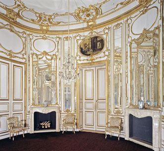 Musikzimmer im Schloss Solitude, Foto: Staatliche Schlösser und Gärten Baden-Württemberg, Andrea Rachele