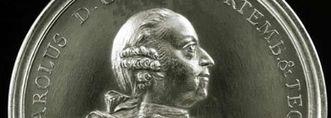 Portrait of Duke Carl Eugen von Württemberg on a medallion, circa 1780. Image: Landesmedienzentrum Baden-Württemberg, Dieter Jäger