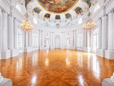 Schloss Solitude, Weißer Saal