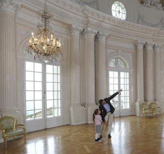 Innenansicht des Weißen Saals in Schloss Solitude, Foto: Staatliche Schlösser und Gärten Baden-Württemberg, Niels Schubert