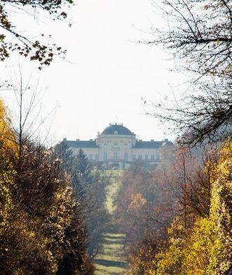 Schloss Solitude im Herbst