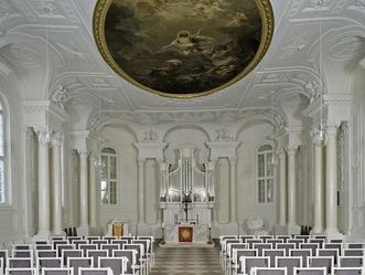 Schlosskapelle von Schloss Solitude