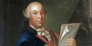 Porträt des Herzogs Carl Eugen von Württemberg