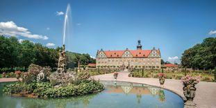 Weikersheim palace and garden