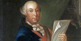 Porträt des Herzogs Carl Eugen von Württemberg.
