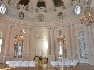 Weißer Saal in Schloss Solitude
