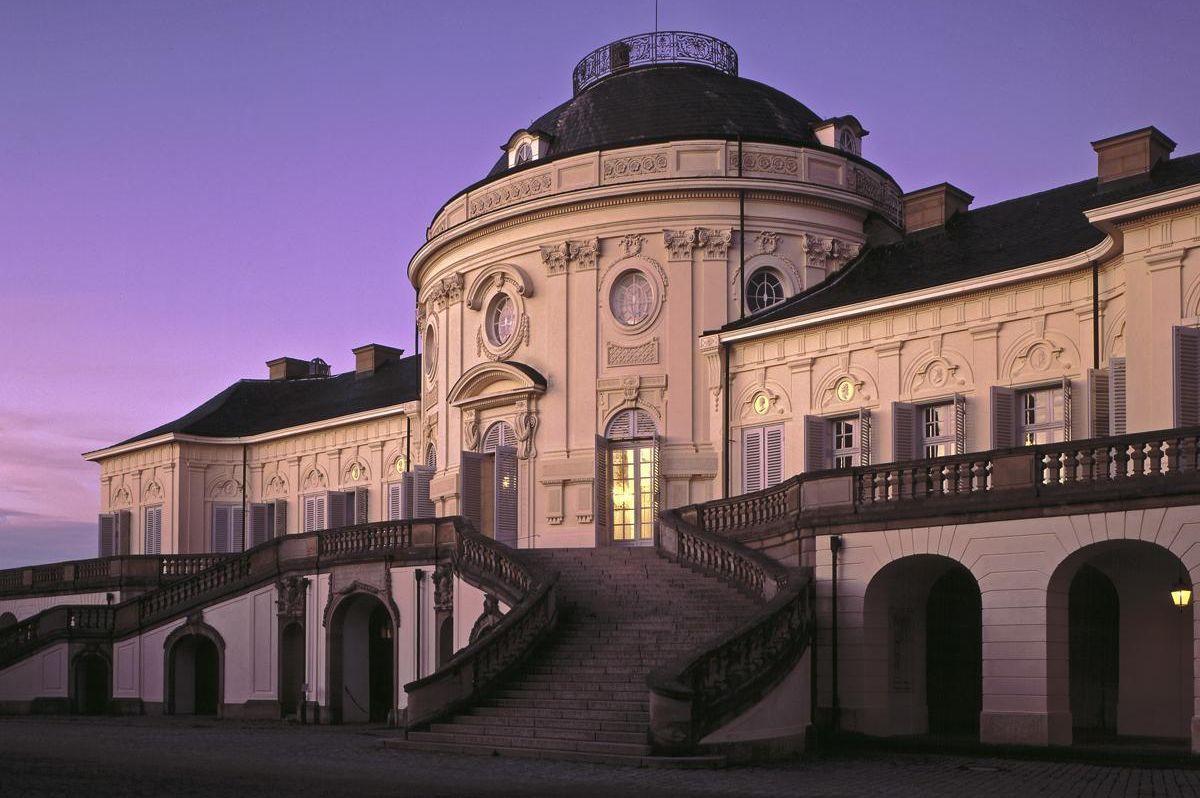 Ansicht von Schloss Solitude, Foto: Staatliche Schlösser und Gärten Baden-Württemberg, Joachim Feist