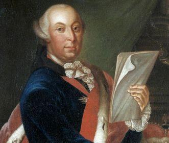 Portrait of Duke Carl Eugen, 1770. Image: Landesmedienzentrum Baden-Württemberg, Dieter Jäger