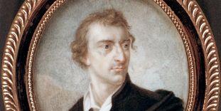 Miniatur-Porträt Friedrich Schillers, 1812.