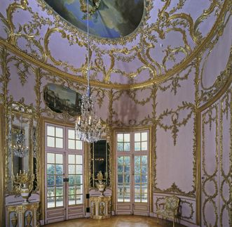 The Palm Room of Solitude Palace. Image: Landesmedienzentrum Baden-Württemberg, Andrea Rachele