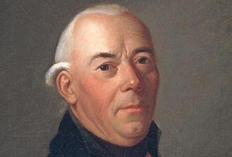 Bildnis des Vaters von Friedrich Schiller: Johann Kaspar Schiller, 1793, Landesmedienzentrum Baden-Württemberg, Hans Steinhorst