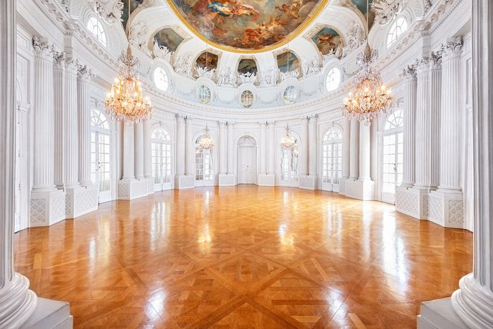 Solitude Palace Stuttgart, White Hall