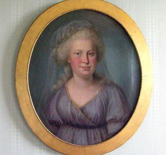 Bildnis Franziska von Hohenheim, heute in Schloss Kirchheim, Foto: Staatsanzeiger für Baden-Württemberg, Anja Stangl
