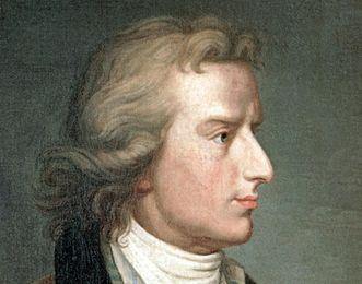 Bildnis Friedrich Schiller von Franz Gerhard von Kügelgen, 1808, Foto: Landesmedienzentrum Baden-Württemberg, Hans Steinhorst